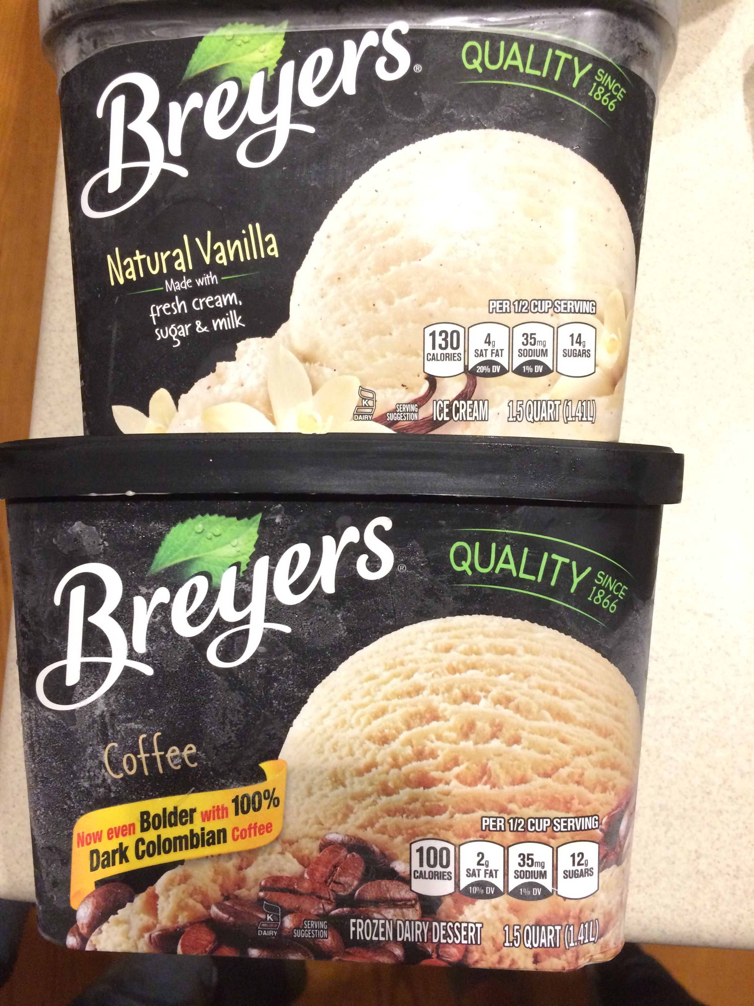 How Could They?  Breyer's Ice Cream…