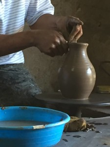 Pottery making in Nicaragua 2016