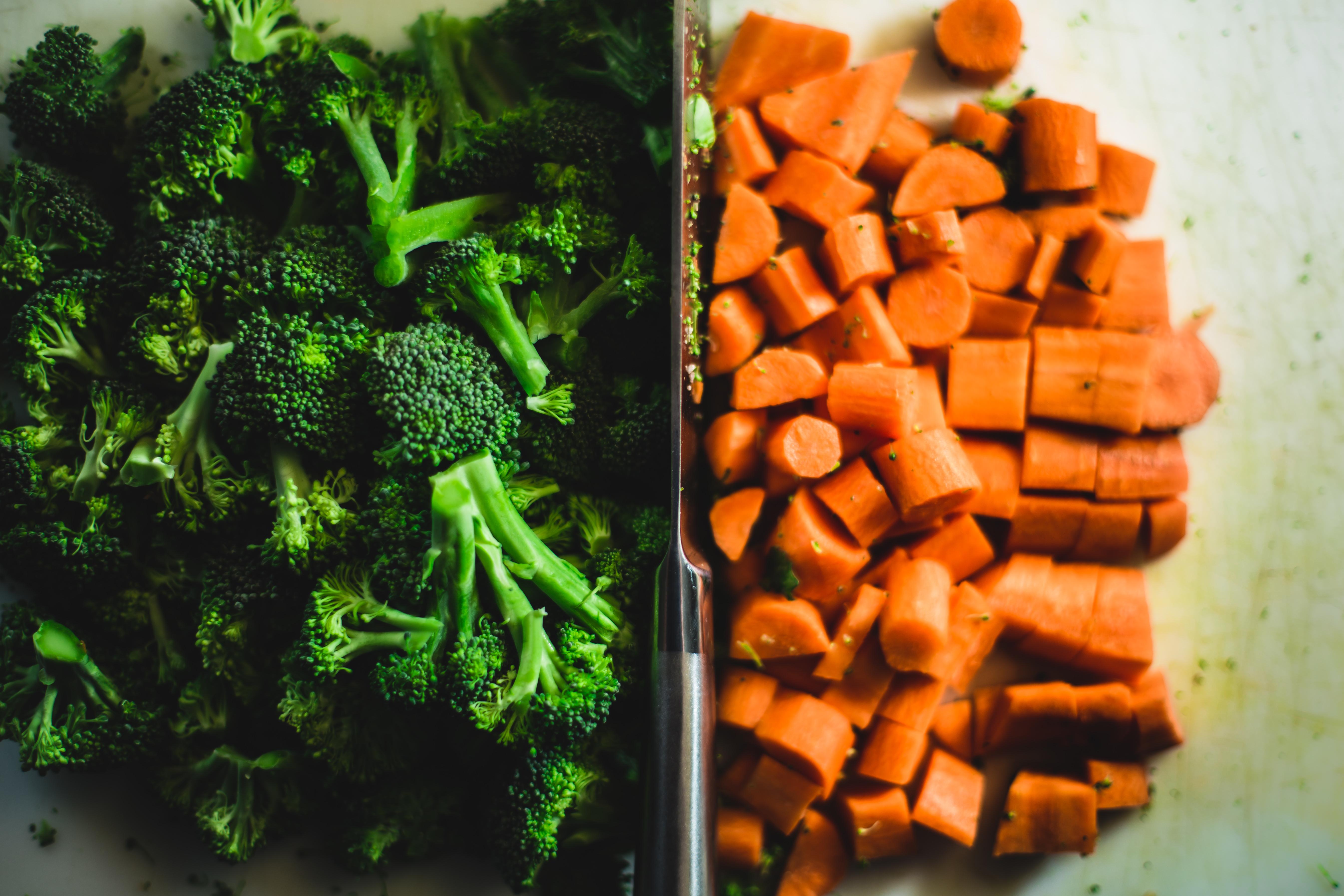 broc carrots