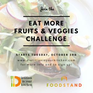 Eat More Fruits & Veggies Challenge