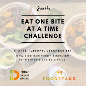 One Bite At A Time Challenge